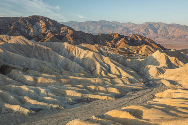 Sunrise in Death Valley National Park, US.