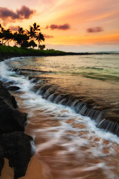 Sonnenaufgang in Hawaii – Foto