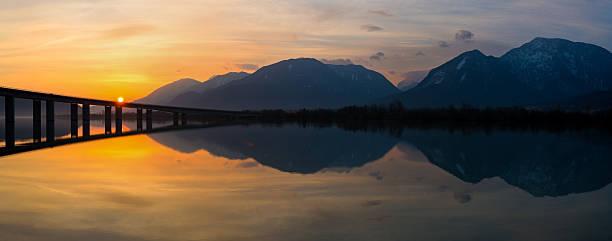 Sonnenaufgang in Kärnten – Foto