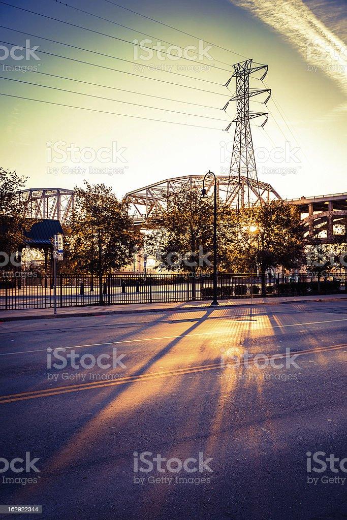 Sunrise in Nashville royalty-free stock photo