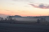 early morning in rural Eifel