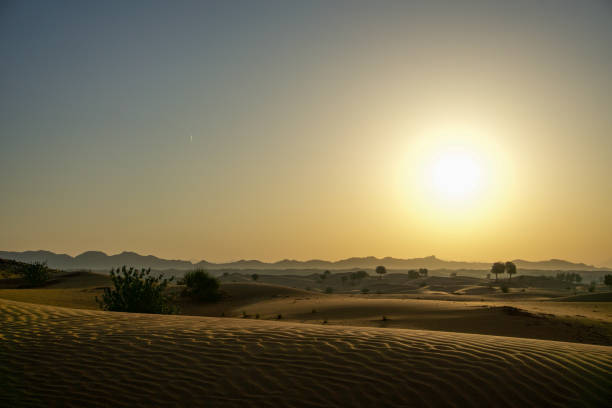 Sonnenaufgang in der Wüste  – Foto