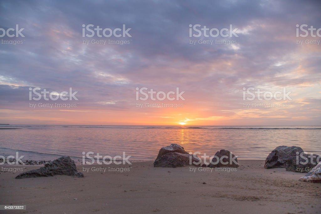 Sonnenaufgang am Morgen – Foto