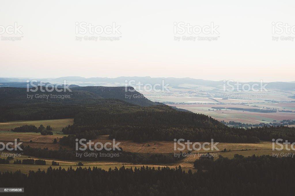 Sonnenaufgang in den Bergen  Lizenzfreies stock-foto