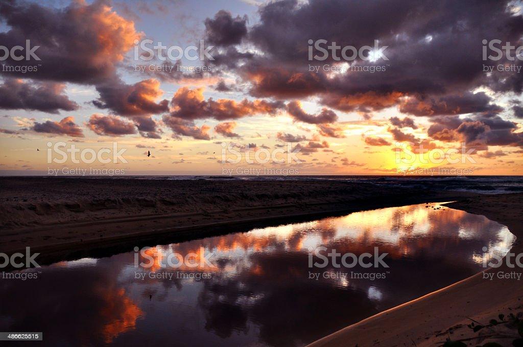 Sunrise Morning royalty-free stock photo