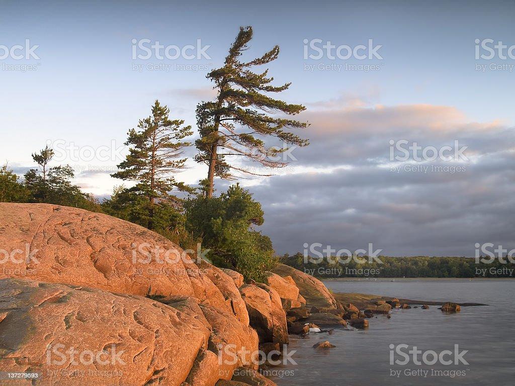 Sonnenaufgang auf der Georgian Bay – Foto