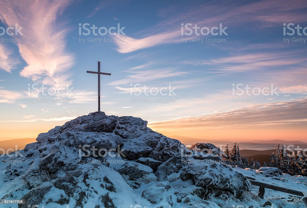 Sunrise on Great Arber mountain – Foto