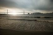 Sunrise on the beach, 부산 광안리