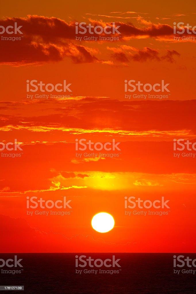 Sonnenaufgang am Meer – Foto