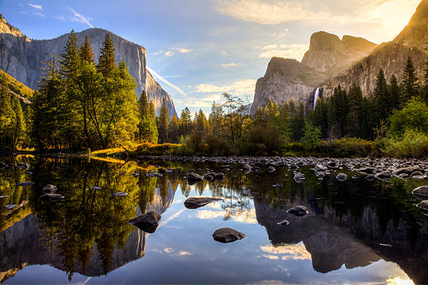 Royalty free nature pictures images and stock photos istock sunrise on yosemite valley stock photo voltagebd