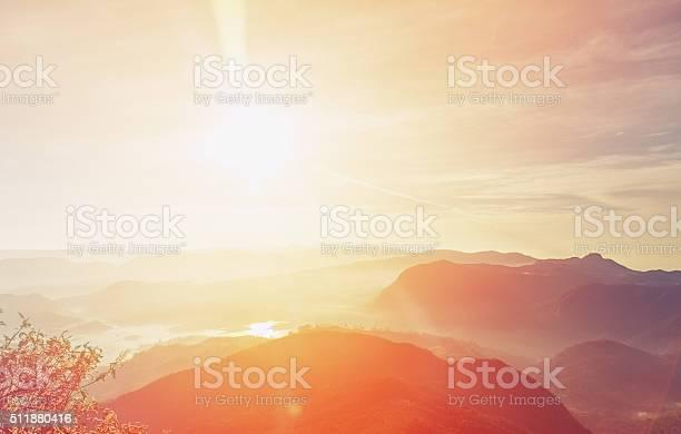 Photo of Sunrise over Adam's peak, Sri Lanka