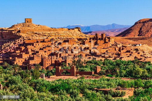 872393896istockphoto Sunrise over Ait Benhaddou - Ancient city in Morocco North Africa 982189236