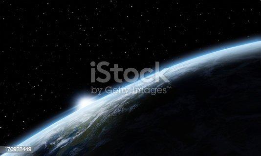istock Sunrise over Earth 170922449