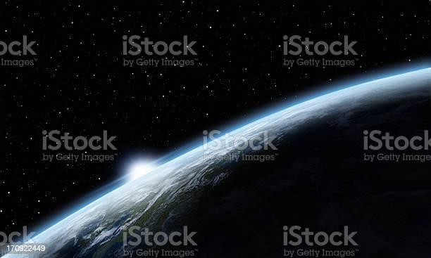 Photo of Sunrise over Earth