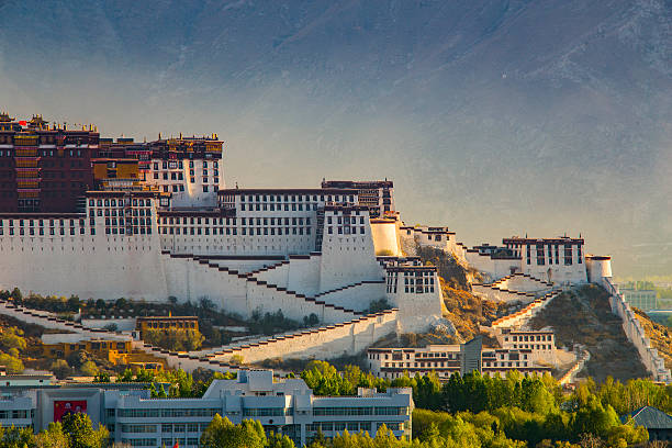 Sunrise Over Potala Palace, Tibet