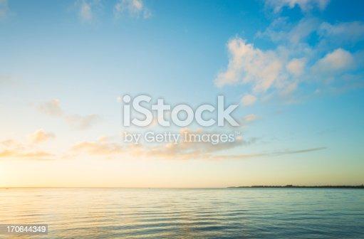 istock Sunrise over sea 170644349