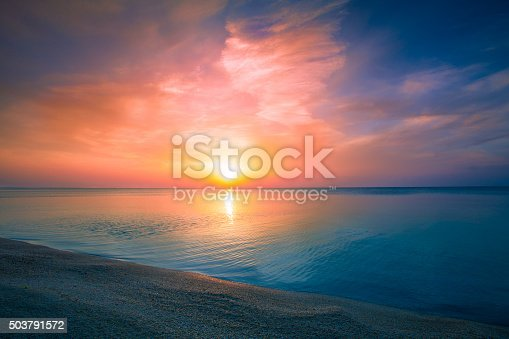 istock Sunrise over sea 503791572