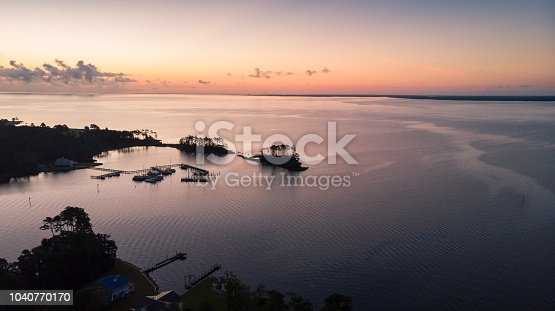 istock Sunrise over the Neuse River 1040770170