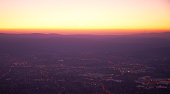 istock Sunrise over town 1146922775