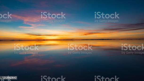 Photo of Sunrise Over Uyuni Salt Flats in Bolivia, South America