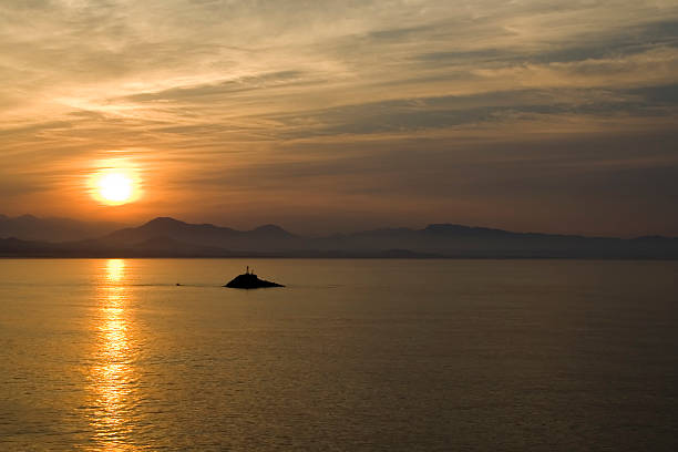Sonnenaufgang über Zihuatanejo Island – Foto