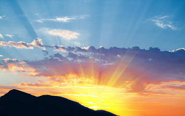 sunrise - twilight teile stock-fotos und bilder