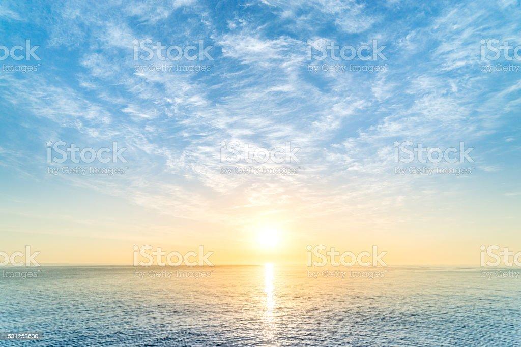 Sunrise foto stock royalty-free