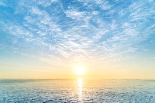 Sunrise - Fotografie stock e altre immagini di Acqua