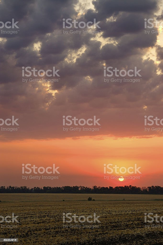 Sunrise 免版稅 stock photo