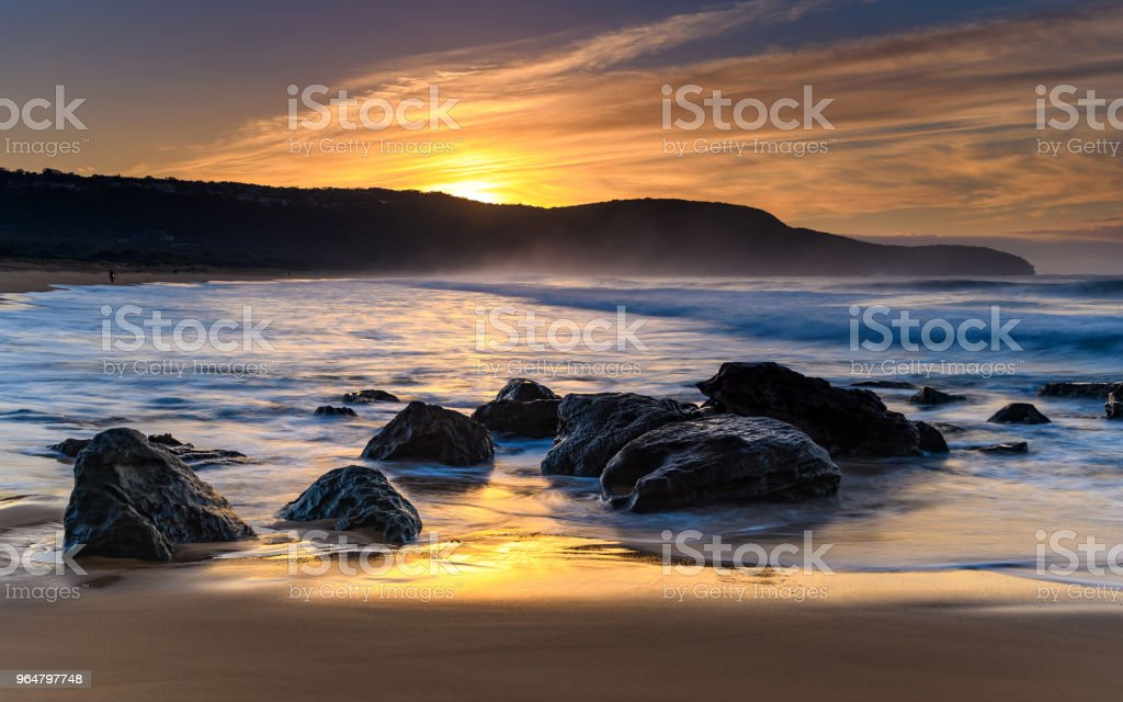 Sunrise Seascape royalty-free stock photo