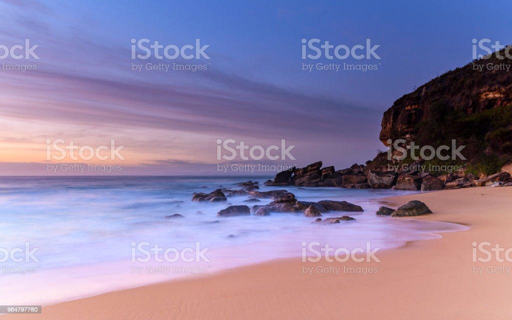 Sunrise Seascape royalty-free stock photo