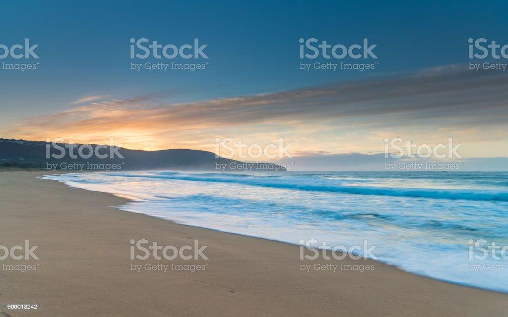 Sunrise Seascape - Royalty-free Amanhecer Foto de stock