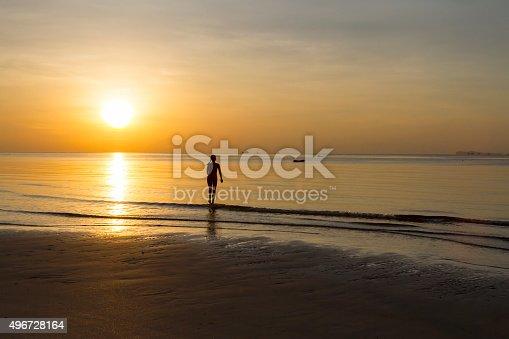 494377786istockphoto Sunrise show body woman silhouette 496728164