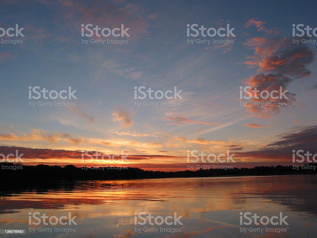 Sunrise - Sky royalty-free stock photo