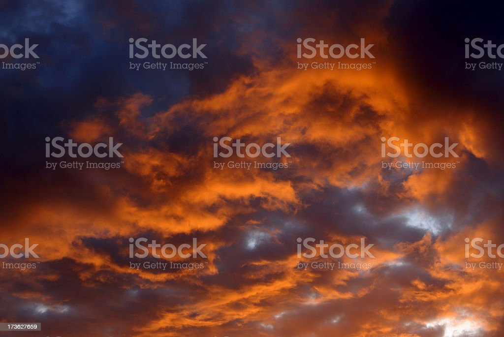 Sunrise Sky royalty-free stock photo
