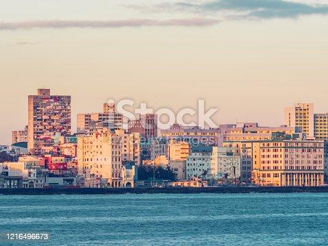 istock sunrise skyline of Havana 1216496673