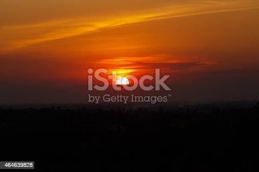 istock Sunrise, Sunset Sky Background. 464639828