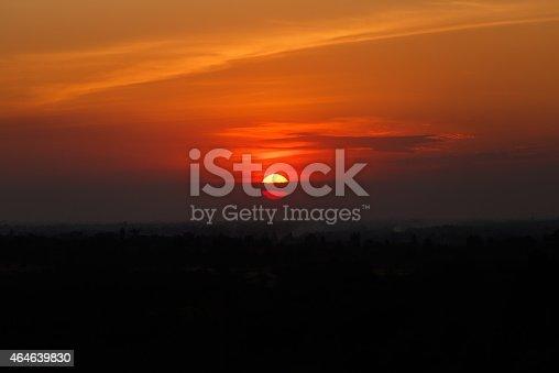 istock Sunrise, Sunset Sky Background. 464639830