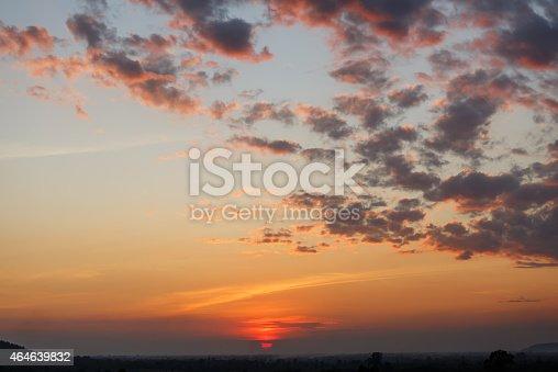 istock Sunrise, Sunset Sky Background. 464639832