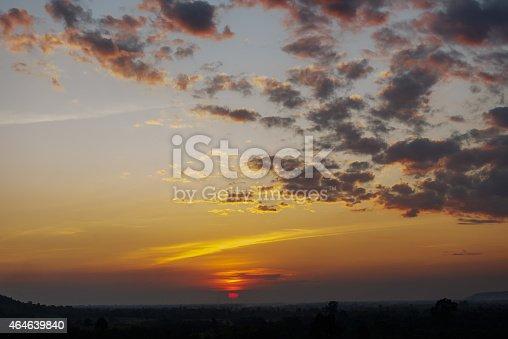 istock Sunrise, Sunset Sky Background. 464639840