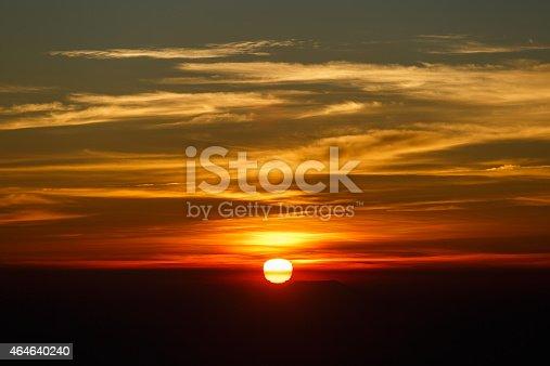 istock Sunrise, Sunset Sky Background. 464640240