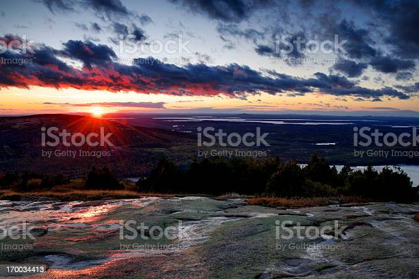 Photo of Sunrise view from Cadillac Mountain, Acadia National Park, Maine