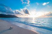 太平洋の日の出ビュー