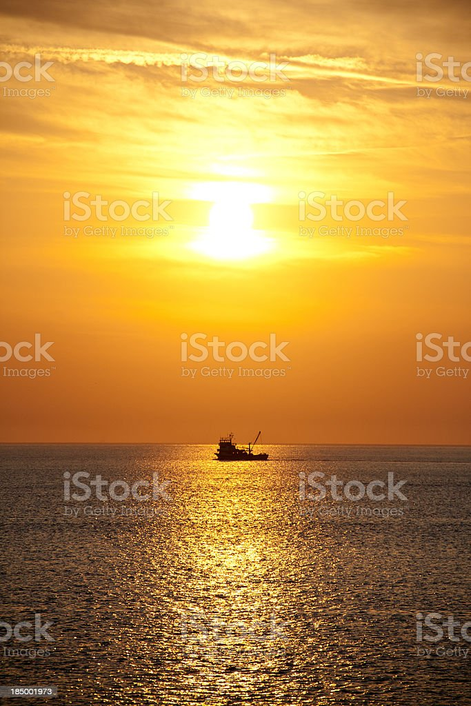 Sunrise view royalty-free stock photo