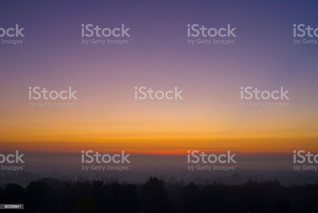 Sunrise with Copy Space royalty-free stock photo