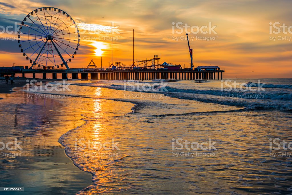 Sunrises Color Reflections stock photo