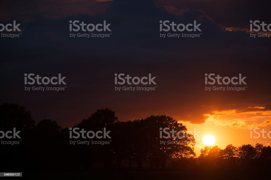 Sunsat at Ruegen, Germany royalty-free stock photo