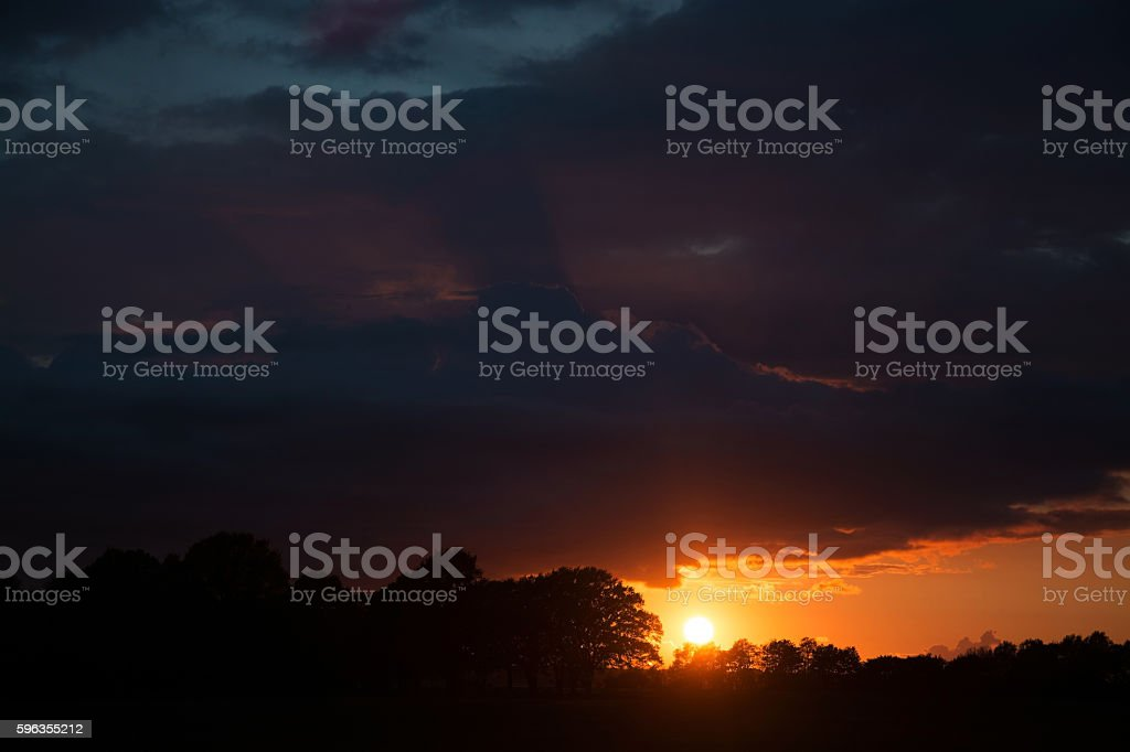Sunsat at Ruegen, Germany royalty-free stock photo
