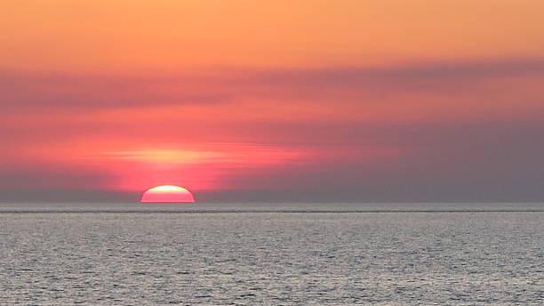 Sunset 01 stock photo