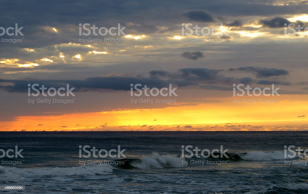 Sunset 03 Mar 5 2015 stock photo